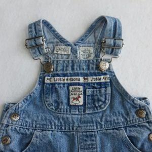 Vintage Arizona Jean Company baby overalls 0-3 mo
